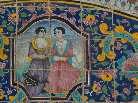Tiles of Golestan Palace