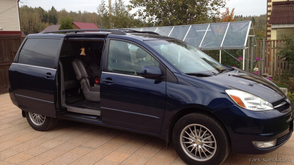 2004 Toyota Sienna Minivan Specifications Pictures Prices