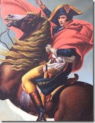 Napoleon ueberquert die Alpen-2