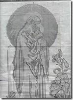 virgen con niño punto de cruz (1)