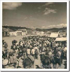 dia de feira - antigamente na atual praça ubirajara coelho