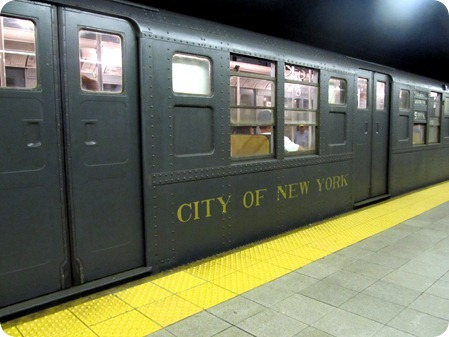 Retro Subway Car