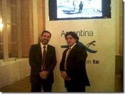 El secretario de Producción y Desarrollo Amado Zogbi, viajó a Italia junto a la comitiva argentina