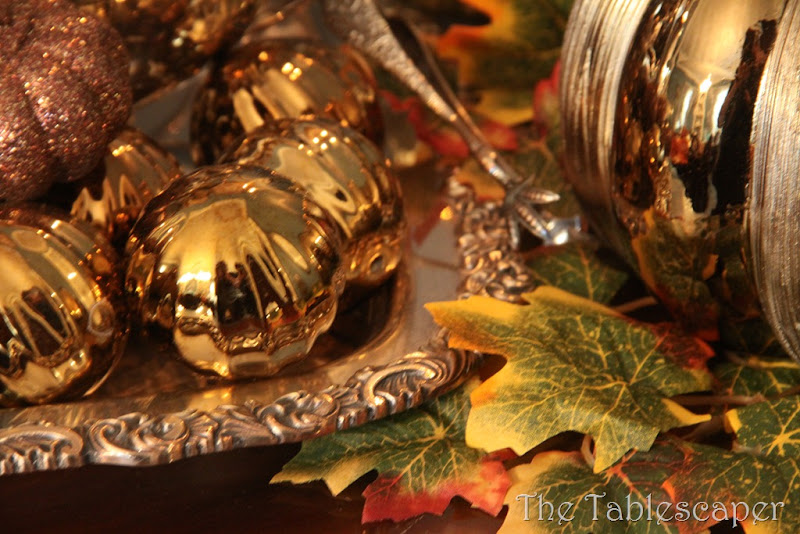 Fall Metallic Dining room 036