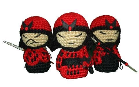 Samukokes del Clan del Fuego por La Costurera Ninja