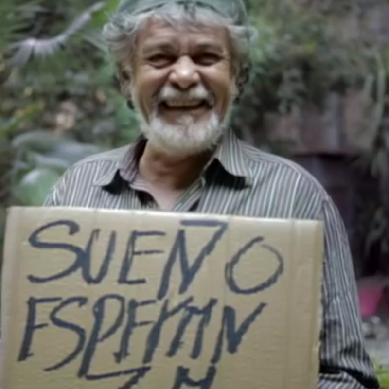 La tipografía que ayuda a las personas sin hogar