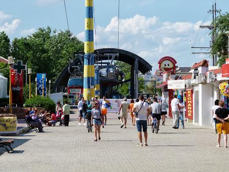 Litoral Romania: Statia telegondola Mamaia