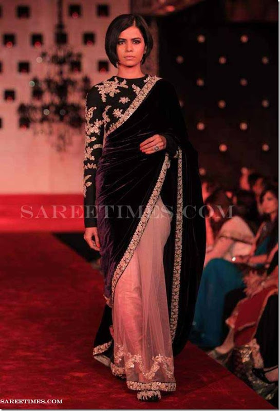 Sabyasachi_Black_Saree