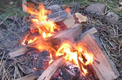 Feuer Wintersonnenwende