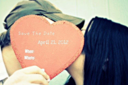 Gary and Kelly Engagement save the date