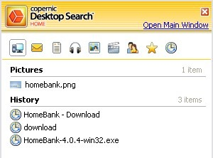 Free Copernic for Faster Windows Search
