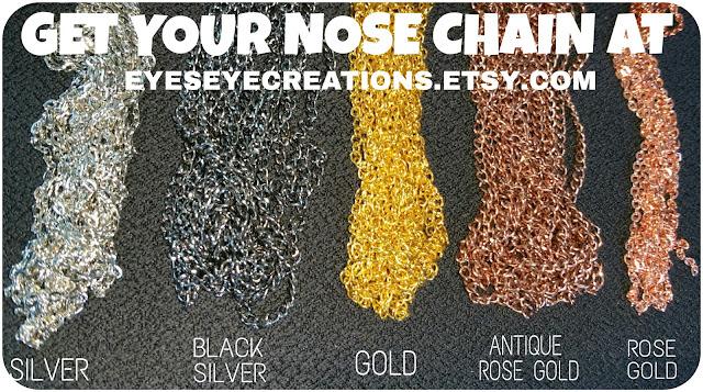 New NEFETARI Nose Chains