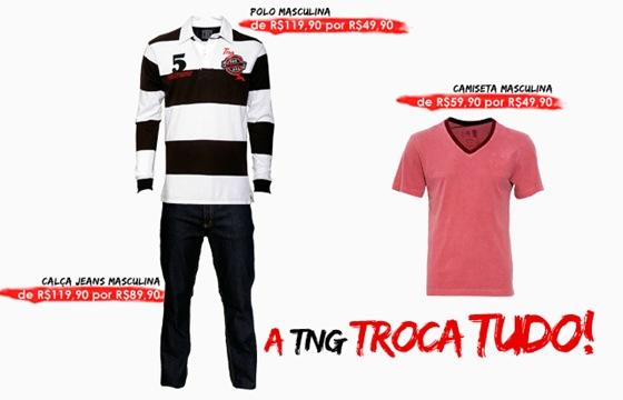 TNG faz liquidação Troca Tudo para queimar o estoque Verão 2012.