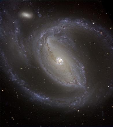 galáxia espiral NGC 1097
