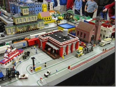 IMG_0170 Greater Portland Lego Railroaders Layout at the Great Train Expo in Portland, Oregon on February 16, 2008