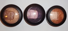 MAC Divine Night Mineralize Eye Shadows