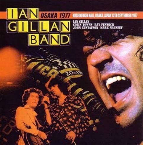 Ian Gillan Band Osaka 1977 Front