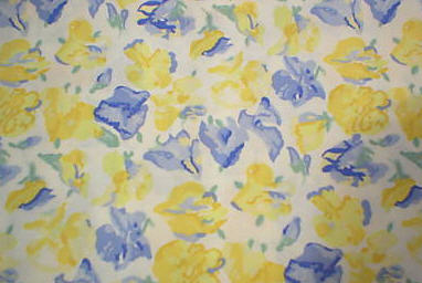 Another classic Ashley print, Sweet Peas. (lauraashley.com)