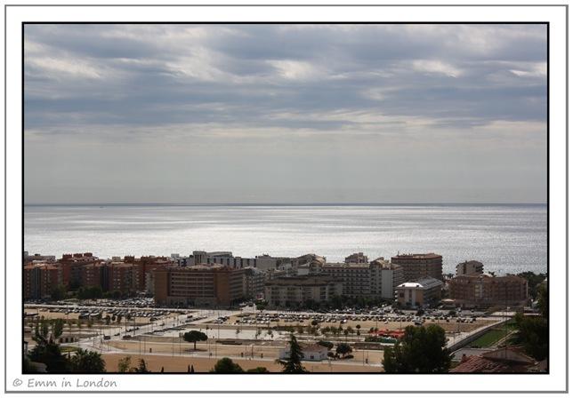 Views of the Mediterranean from Santa Susanna