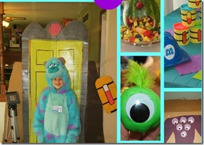 monsters university birthday party