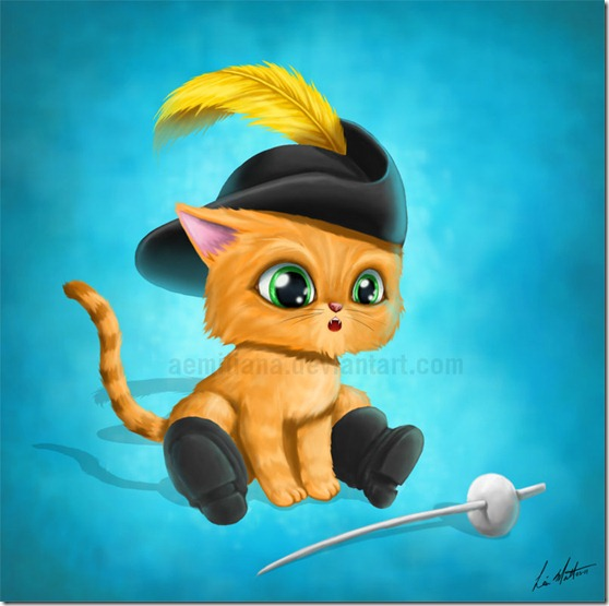 El Gato con Botas,El gato maestro,Cagliuso, Charles Perrault,Master Cat, The Booted Cat,Le Maître Chat, ou Le Chat Botté (107)