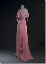 Robe du soir (non griffée), début XXème siècle.