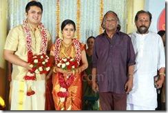 Balachandra Menon daughter Bhavana marriage