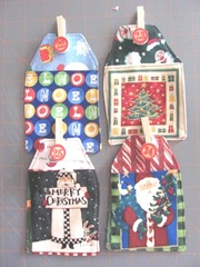 2011 advent fabric calendar 22.25