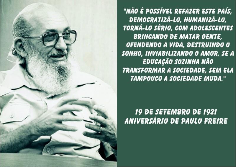 Tag Frase De Paulo Freire