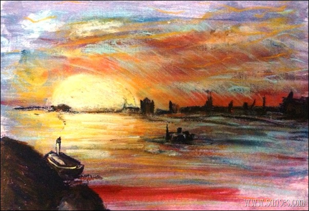 Calude Monet - Sunset