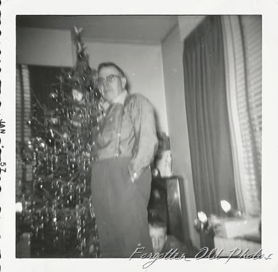 Grandpa John in Wadena 1957 Tin Ceiling