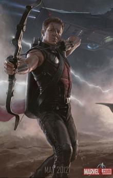 Hawkeye Avengers สรุปข่าวรอบสัปดาห์ ภาพยนตร์ The Avengers [24-July-2011]