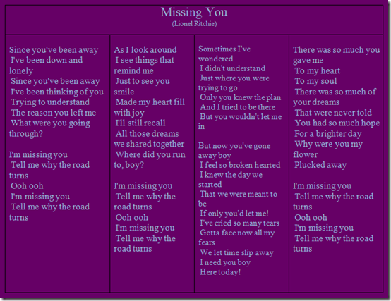Missing You_Lionel Ritchie_up