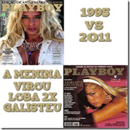 Adriane Galisteu Pack - 1995 e 2011