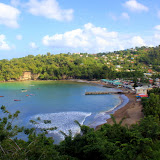 The Small Fishing Port of Anse La Raye - Castries, St. Lucia