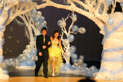 Grand march Maddie and beau