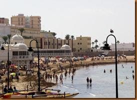 Cadiz, beach