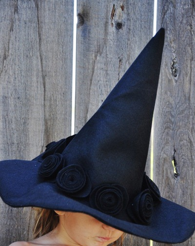 witch hat pattern tutorial