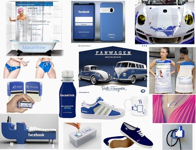 facebook produtos
