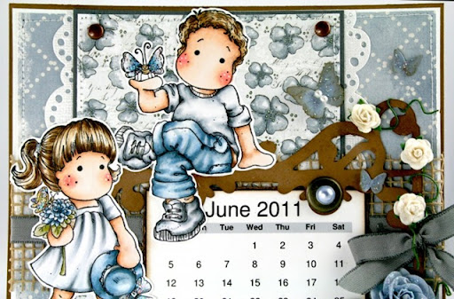 june calendar 2011. Time to show the June calendar
