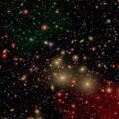 ambiente onde a galáxia NGC 1277 se localiza