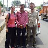 Avec Sunil, notre chauffeur