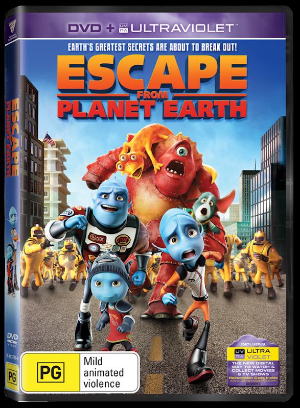 Escape From Planet Earth DVD UV (sameliasmum.com)