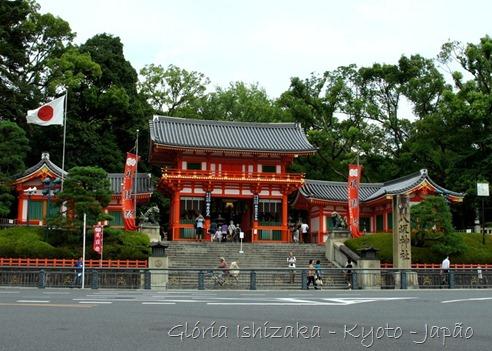 Glória Ishizaka - Templo Yasaka -  Kyoto