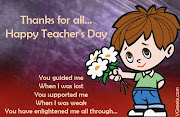 Happy Teachers Day! | Writing My Own Unwritten Lines