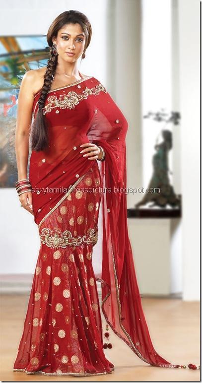 nayanthara-hot-and-sexy-saree-photo-collection