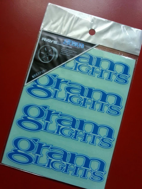 Gram Lights Sticker / Decal / Vinyl Wheel 2