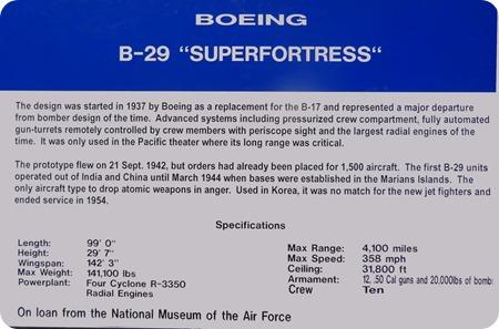 B-29 info