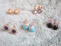 hyphen earrings, bitsandtreats