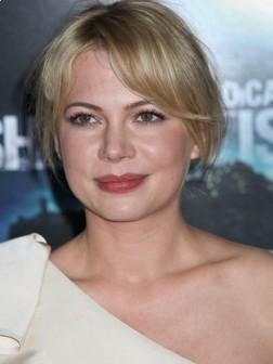 Michelle Williams Short Sexy Hairstyle 2013